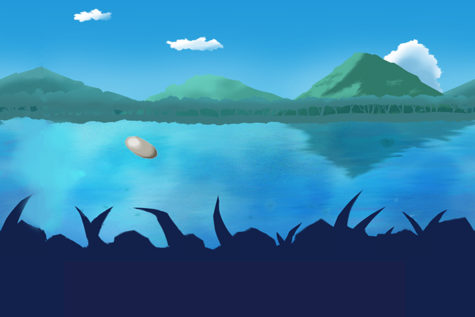 Screenshot Stone Skipping